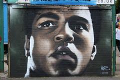 Muhammad Ali Street art Digbeth Birmingham (arw9876543210) Tags: street city art festival birmingham colours ali muhammad muhammadali digbeth p19 akse