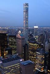 432 Park Avenue (kevinoconnor1000) Tags: new york city nyc urban newyork skyline architecture long exposure fuji state dusk empire fujifilm empirestatebuilding empirestate x100 fujix fujix100s fujifilmx100s