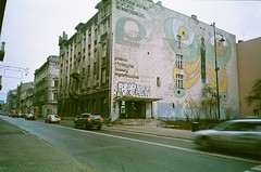 A walk in Lodz (AnalographyStore_com) Tags: 35mm angle wide streetphotography poland lodz expiredfilm filmphotography