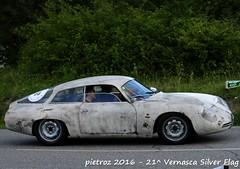 DSC_6605 - Alfa Romeo Giulietta SZ coda tronca - 1961 - Giudici G - Lo Presto Collection (pietroz) Tags: silver photo foto photos flag historic fotos pietro storico zoccola 21 storiche vernasca pietroz