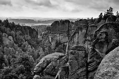 Rockies (j_ezr) Tags: blackandwhite bw landscape czech