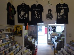 Unknown Pleasures (stillunusual) Tags: travel shop scotland edinburgh tshirt joydivision recordstore jimihendrix iggypop recordshop jimmorrison janisjoplin 2016 unknownpleasures travelphotography travelphoto leithfm travelphotograph indierecordstore indierecordshop