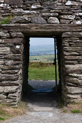 Grianan Ailligh (ghostwheel_in_shadow) Tags: door ireland europe fort eire doorway fortification donegal connaught republicofireland ringfort publicarchitecture architecturalelement griananailligh griannailigh militarystructures architectureandstructures