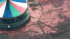 carousel on red (dokkanhouse) Tags: hokkaido merrygoround