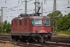 SBB Re 4/4 430 362 Basel Bad (daveymills31294) Tags: bahnhof sbb basel re 44 ffs 430 cff 362 baureihe badischer