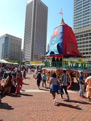 DSCN1158 (ursusdave) Tags: india festival hare baltimore parade krishna chariot 2015 ursusdave davidrobertcrews davidrobertcrews{akaursusdave}