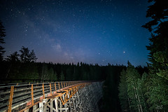 milky way over Kinsol Trestle2