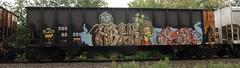 09-01-10 (15) (This Guy...) Tags: road railroad car train graffiti box graf rail rr traincar boxcar graff 2010 hbak