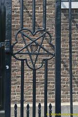 joodse_wijk_09 (Jolande, steden fotografie) Tags: amsterdam nederland synagoge architectuur noordholland tralie joodsewijk