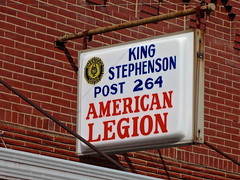 American Legion Post 264, Marceline, MO (Robby Virus) Tags: street war king post main stevenson american missouri wars legion veterans 264 marceline