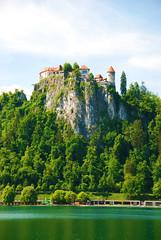 Bled Castle, Bled, Slovenia (West Tribe) Tags: lake castle europe european slovenia bled grad slovene blejski