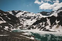 (jaspermordeno) Tags: wedgemountlake lake alpine mountain snow reflection park hike sky nature outdoor bc vancouver whistler pemberton