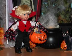 Halloween 2015 IMG_3802 (Creative.Gal.62) Tags: fall halloween ken barbie tommy kelly diorama