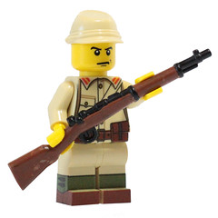 Arisakas are live! (X39BrickCustoms .com) Tags: world new 2 war gun lego wwii rifle prototype weapon ww2 custom printed japs arisaka overmold