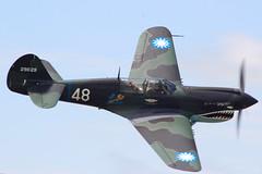 Curtis P-40 Warhawk (Kris Klop) Tags: airshow qcas quadcityairshow wwii fighter flying flight fly p40 curtis warhawk