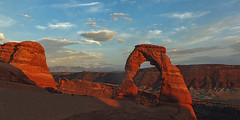 Arches National Park (M-Gianca) Tags: california sunset usa arches canyon tramonti