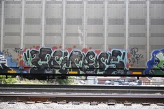 Combos (Revise_D) Tags: graffiti freight revised combos bsgk benching benchingsteelgiants