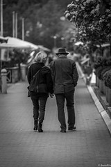Along the path of life.... (benn_riis) Tags: street people bw denmark nikon candid streetlife d750 70200