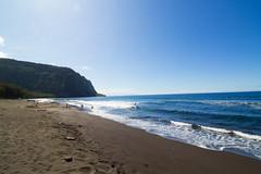 waipiobeach (~Arles) Tags: waipiovalley hawaii bigisland waipio sand blue bluesky