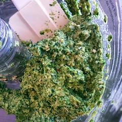 Green Thai Curry Paste (yummysmellsca) Tags: food hot green cooking vegetables square ginger vegan yummy yum herbs chiles curry delicious homemade spices squareformat thai vegetarian condiment garlic peppers spicy lowcarb lemongrass edible cilantro homegrown chilis healthyfood scallion foodie ingredient lowfat thaicurry glutenfree egyptianonion lemonbalm instafood comestible greencurrypaste growyourown thaicurrypaste fishmint iphoneography instagramapp uploaded:by=instagram eatfoodphotos