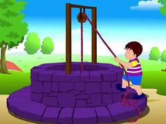 Amended Nursery Rhyme3 (Little Boffin (PeterEdin)) Tags: water cat bucket comedy poem well nurseryrhyme dingdongbell richarddigence