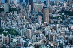 View from Roppongi Hills Mori Tower (Harry J. Bauer) Tags: street japan tokyotower roppongihills hochhaus moritower tokio strase