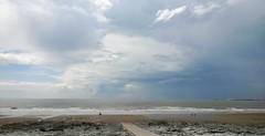 Storm Brewing over Porthcawl (Andy.Gocher) Tags: uk sky cloud seascape storm beach water wales clouds landscape coast seaside europe outdoor shore bridgend ogmorebysea sigma18250 canon100d cloudsstormssunsetssunrises andygocher