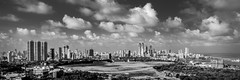 To the South of the Phoenix (Acero666) Tags: 2016 bw blackandwhite bombay highcontrast hotel india mumbai darkart mosque sea skyscraper urban