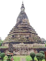 Black Stupa 5 (SierraSunrise) Tags: stupa religion buddhism laos vientiane chedi