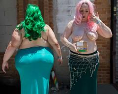 Surf Avenue (mookie.nyc) Tags: nyc costumes love coneyisland costume perfect circus bbw surreal mermaids mermaidparade bbg sideshow mermaiddayparade newyorkers bigbeautifulwoman coneyislandmermaiddayparade mookienyc mermaidparade2016 bigbeautifulmermaids