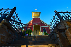 Higher Ground (scottducey209) Tags: california old church ferry buildings nikon hill rustic tokina knights goldcountry knightsferry 1116mm d5200