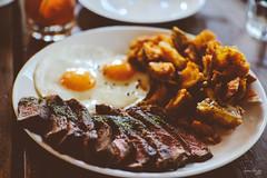 Wildflour Steak & Eggs (Daniel Y. Go) Tags: food fuji anniversary philippines steak eggs steakeggs wildflour xpro2 fujixpro2