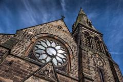 St. Mark's church, Winshill, Staffordshire. (Jonathan Fletcher Photography) Tags: church saint st marks staffordshire midlands burtonupontrent 18135 winshill fujixt1