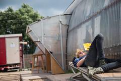 A Chill Day // Strange Sounds From Beyond (Merlijn Hoek) Tags: camera party feest portrait man slr festival 35mm photography nikon fotografie photographer dof depthoffield full fullframe nikkor portret depth digitalslr kamera ndsm noord merlijn hoek fotograaf noods scherptediepte d810 autodidact amsterdammer 35mmformat merlijnhoek nikond810 digitalsinglelensreflex fullframedigitalslr 36megapixel 3624mm strangesoundsfrombeyond