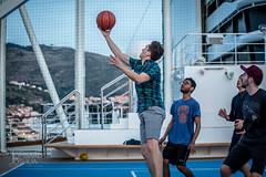 6F4A6870.jpg (joshualombard) Tags: sunset water basketball port croatia cruiseship hr dubrovnik oldcity dubrovakoneretvanskaupanija dubrovakoneretvanskaupanij