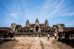 Angkor Wat (jkpark78) Tags: 2016 sonya7rii angkorwat cambodia travel architecture temple wide angle blue sky summer sony zeiss 25mm sonyimages siem reap vacation unesco buddhism historic