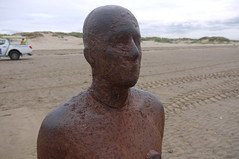 Vacant Stare (jpcrocks450) Tags: crosby liverpool statue art artinstallation beach seaside anotherplace antonygormley