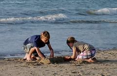 Belgian coast (Natali Antonovich) Tags: friends sea portrait water childhood children seaside blankenberge northsea seashore seasideresort belgiancoast seaboard