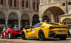 F12 TDF vs Enzo (David Clemente Photography) Tags: ferrari enzo tourdefrance supercars tdf ferrarienzo hypercars ferraricavalcade f12tdf ferrarif12tdf f12tourdefrance