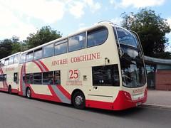 Aintree Coachline SN58 CDK (North West Transport Photos) Tags: bus chester enviro trident adl e400 alexanderdennis enviro400 aintreecoachline helmsofeastham sn58cdk