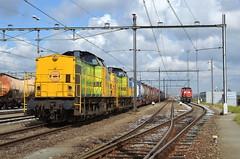 04.07.2016 (I); Op en neer naar Emmerich (chriswesterduin) Tags: v100 cargo trein emmerich rrf br189 kijfhoek distrirail