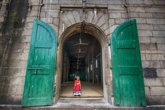 Angel in Red (Sathish_Photography) Tags: door kids faces madras solo single chennai littlegirls younggirls cutegirls wideangleshots muslimgirls lowangleshot triplicane muslimfestival tamronwideanglelens sathishphotography mychennai nikon750 sathishkumarphotography tamron1530mmlens triplicanemasjid triplicanemosque triplicanewallajahmosque ramzanday