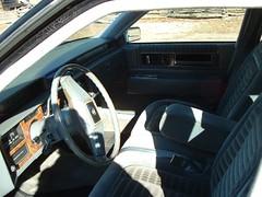 1985 Cadillac deVille 6-door Limo (smokuspollutus) Tags: door 6 black classic home car wheel drive exterior conversion interior front cadillac professional funeral cloth deville 1985 v8 coachbuilder ht4100