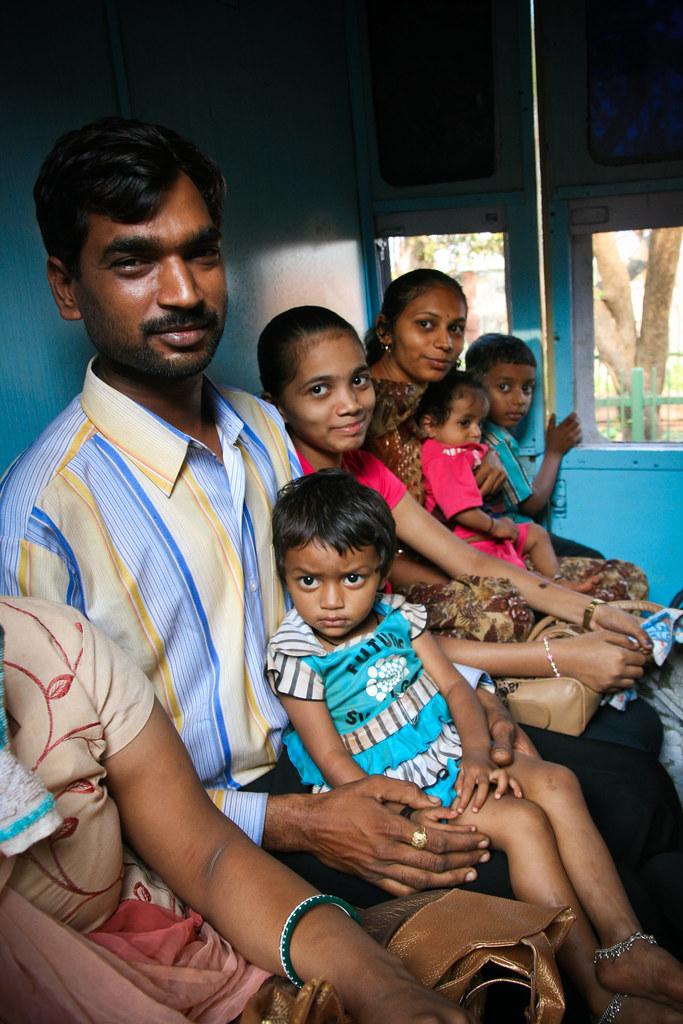 In the Matheran Toy Train