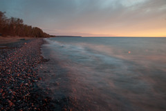 Looking South - ND (schandle) Tags: sunset michigan lakesuperior calumet waterworkspark