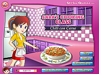莎拉的烹飪班:辣肉醬湯(Chili Con Carne: Sara's Cooking Class)