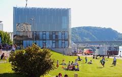 Linzfest 2013 -Tag 1 (austrianpsycho) Tags: linz wiese feuerwehr strauch kunstmuseum lentos 2013 linzfest donaulände nibelungenbrücke 18052013 linzfest2013
