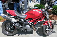 Ducati monster (D70) Tags: show canada monster vancouver bc motorcycles ducati trev deeley shorenswine