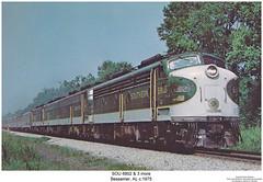SOU 6902 & 4 more (Robert W. Thomson) Tags: diesel crescent southern locomotive sr sou emd eunit aunit sixaxle cabunit coveredwagone8e8atraintrainstrain enginerailroadrailwaybessemeralabamasouthern
