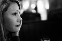 _MG_9493-124 (k.a. gilbert) Tags: portrait bw lunch profile mother indoors kristen wife handheld inside fullframe milf manualfocus cheesecakefactory wideopen manualaperture canon5dc rokinon35mmf14